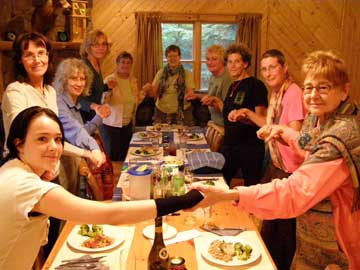 Dao of Well Being Women's Retreat dining